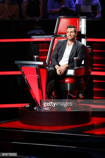 THE VOICE 'Playoff Rounds' Pictured Adam Levine