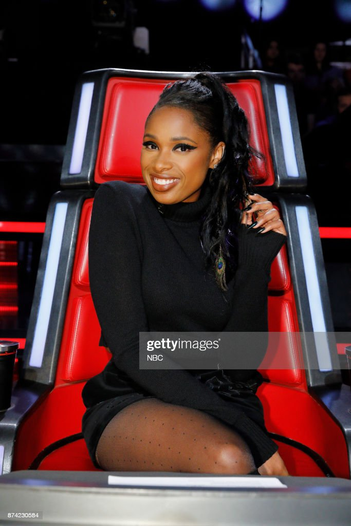THE VOICE -- 'Playoff Rounds' -- Pictured: Jennifer Hudson --
