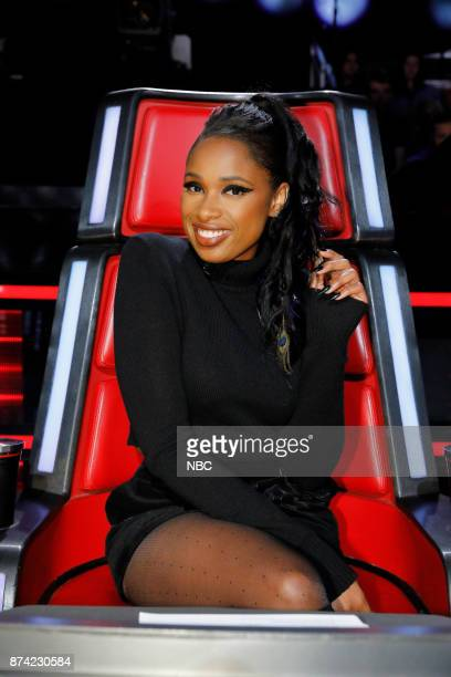 THE VOICE Playoff Rounds Pictured Jennifer Hudson