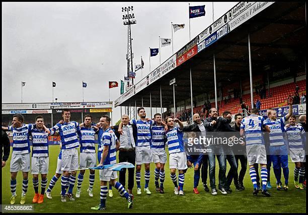 Playoffs Volendamde Graafschap De Graafschap viert feest in het KRASstadion na de promotie Foto Pim Ras during the playoffs promotion/relegation...