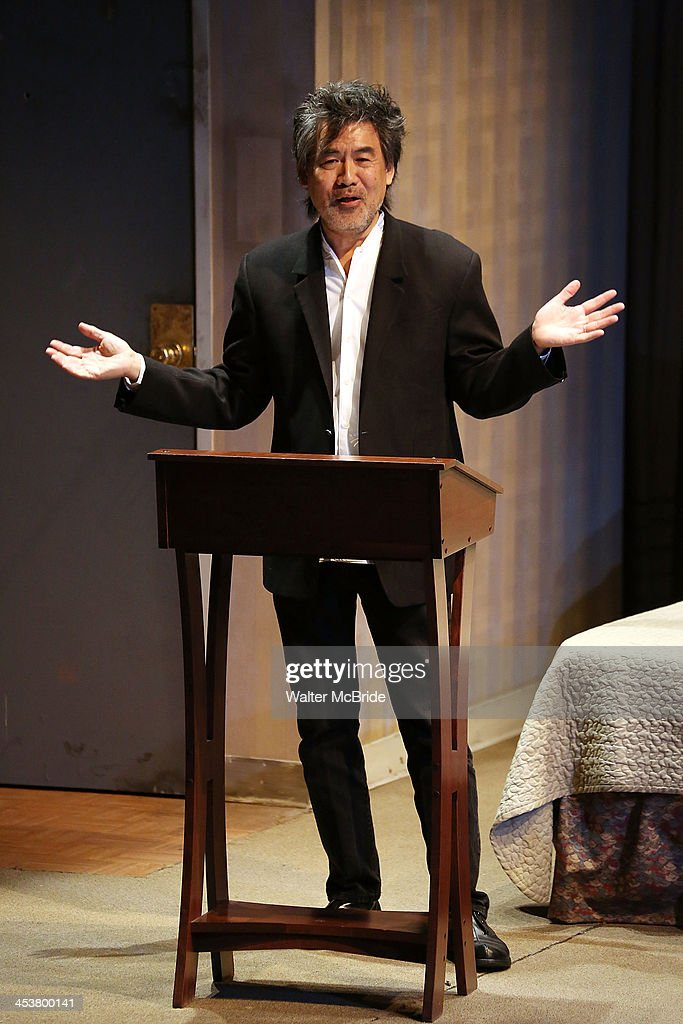 Playright David Henry Hwang attends Cherry Lane Theatre's 'Mentor Project 2014' 16th anniversary celebration at Cherry Lane Theatre on December 4, 2013 in New York City.