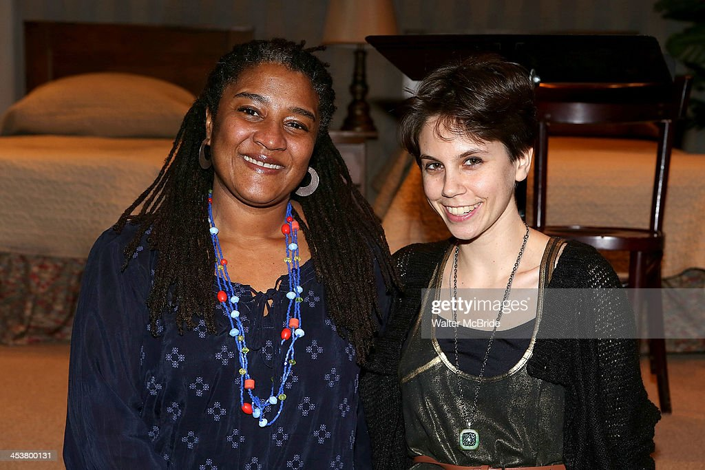 Playright Lynn Nottage (L) and Playright Jen Silverman attend Cherry Lane Theatre's 'Mentor Project 2014' 16th anniversary celebration at Cherry Lane Theatre on December 4, 2013 in New York City.