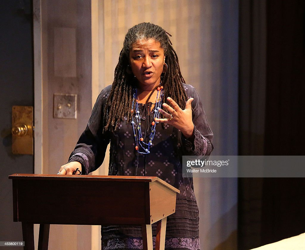 Playright Lynn Nottage attends Cherry Lane Theatre's 'Mentor Project 2014' 16th anniversary celebration at Cherry Lane Theatre on December 4, 2013 in New York City.