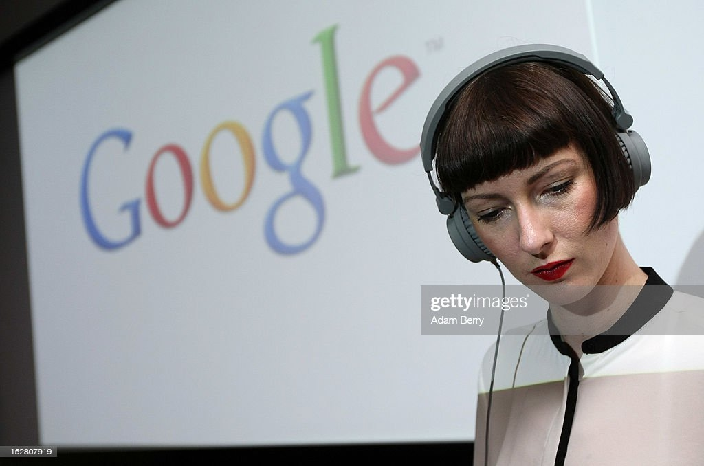 A DJ plays music on September 26, 2012 at the official opening party of the Google offices in Berlin, Germany. Although the American company holds 95% of the German search engine market share and already has offices in Hamburg and Munich, its new offices on the prestigious Unter den Linden avenue are its first in the German capital. The Internet giant has been met with opposition in the country recently by the former president's wife, who has sued it based on search results for her name that she considers derogative. The European Commission has planned new data privacy regulations in a country where many residents opted in to have their homes pixeled out when the company introduced its Street View technology.