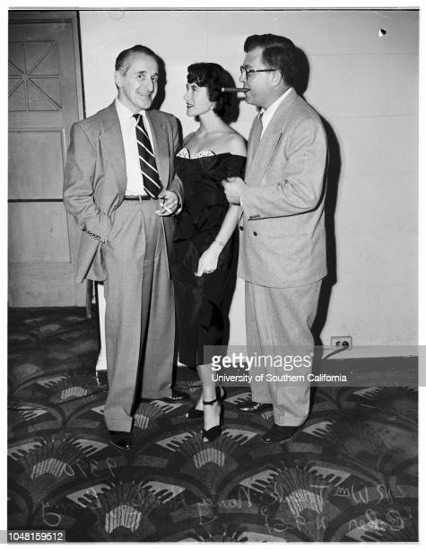 Plays 'My Los Angeles' 9 November 1951 Anne TrioloMarjorie BennettNancy HadleyWilliam TrenkBenny Baker