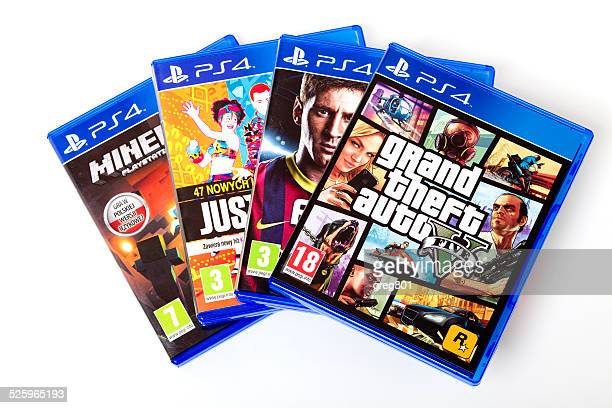 Playstation 4 Spiele-GTA V, Fifa14, Minecraft XXXL