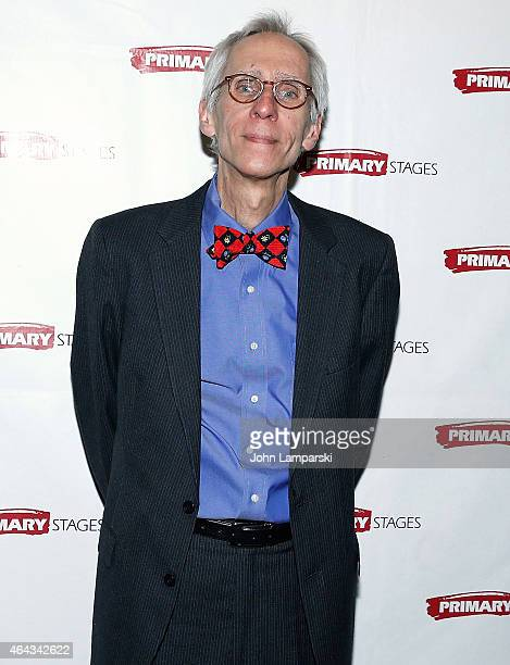 Playwrighrt David Ives attends 'Lives Of The Saints' opening night after party at Casa Nonna on February 24 2015 in New York City