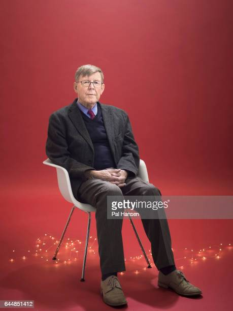 Playwright Alan Bennett is photographed for the Observer on November 22 2016 in London England