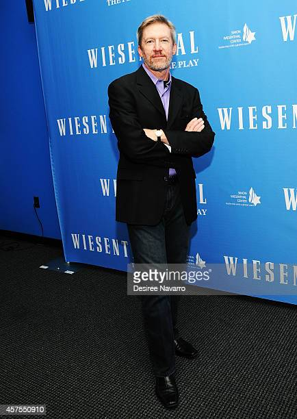Playwright and actor Tom Dugan attends 'Wiesenthal' Press Preview at the Acorn Theatre at Theatre Row Lounge on October 20 2014 in New York City