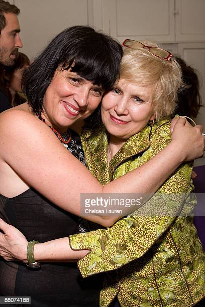 Playwright and VDay founder Eve Ensler actress Brenda Currin attend Global Green USA and VDay's west coast premiere reading of Eve Ensler's new play...