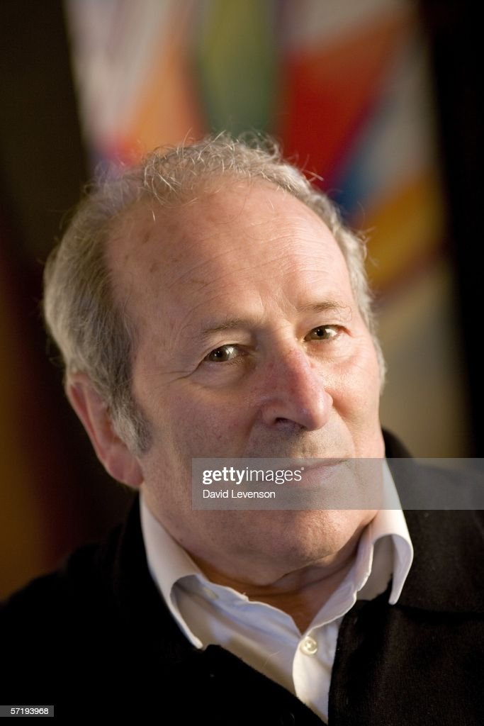 Playwright Arnold Wesker poses for a portrait at the annual Sunday Times Oxford Literary Festival held at Christ Church on March 27, 2006 in Oxford, England.