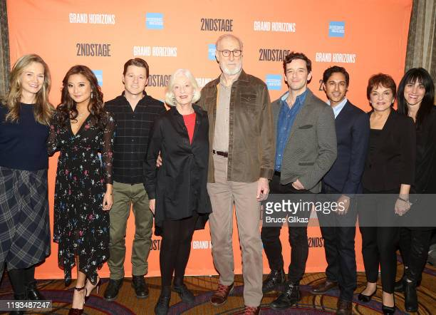 Playwright Bess Wohl Ashley Park Ben McKenzie Jane Alexander James Cromwell Michael Urie Maulik Pancholy Priscilla Lopez and Director Leigh Silverman...