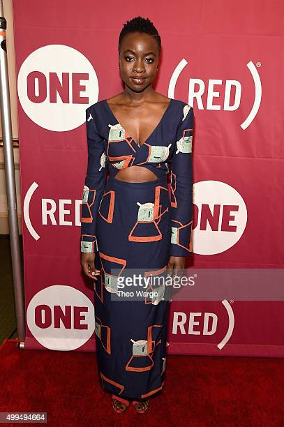 Playwright Danai Gurira attends the ONE Campaign and 's 'It Always Seems Impossible Until It Is Done' 10th anniversary celebration at Carnegie Hall...