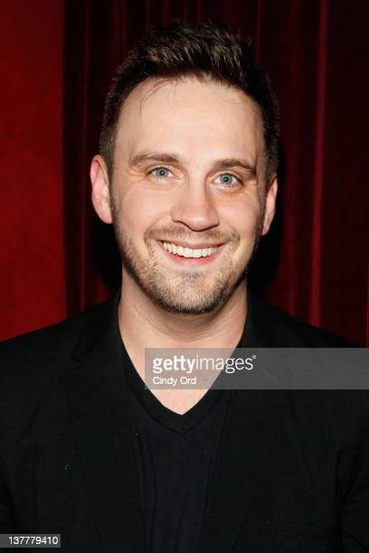 Playwright Daniel Talbott attends the 'Yosemite' opening night after party at Dublin 6 on January 26 2012 in New York City