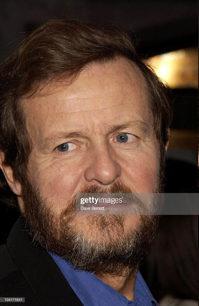 Playwright David Hare, The Singing Detective Movie Premiere At The Everyman Theatre In Hampstead, London