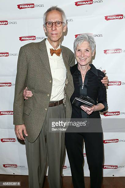 Playwright David Ives and wife Martha Ives attend the 2014 Primary Stages Gala at 583 Park Avenue on November 3 2014 in New York City
