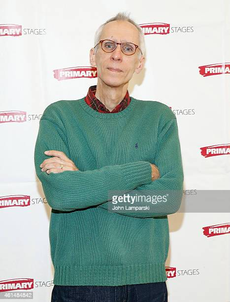 Playwright David Ives attends 'Lives Of The Saints' Press Preview at Primary Stages Rehearsal Studio on January 13 2015 in New York City