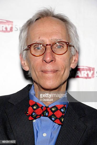 Playwright David Ives attends the 'Lives Of The Saints' opening night afterparty at Tir Na Nog on February 24 2015 in New York City