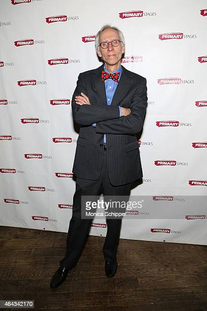 Playwright David Ives attends the 'Lives Of The Saints' Opening Night After Party at Tir Na Nog on February 24 2015 in New York City