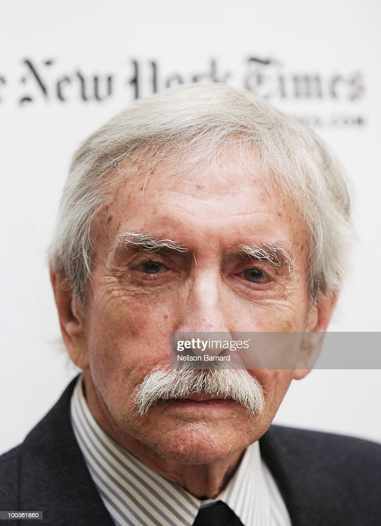 Playwright Edward Albee arrives at the 55th Annual Drama Desk Awards at FH LaGuardia Concert Hall at Lincoln Center on May 23, 2010 in New York City.