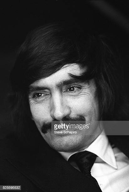 Playwright Edward Albee during the shooting of the film A Delicate Balance