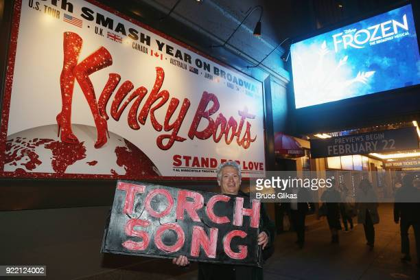 Playwright Harvey Fierstein carries 'the torch' from the Second Stage Tony Kiser Theater to the Helen Hayes Theater where it debuted 36 years ago as...