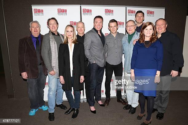 Playwright Harvey Fierstein, Larry Pine, Lisa Emery, Reed Birney, Patrick Page, Nick Westrate, John Cullum, Gabriel Ebert, Mare Winningham and Tom...