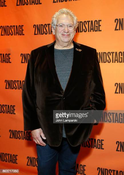 Playwright Harvey Firestein attends the Torch Song OffBroadway opening night at Tony Kiser Theatre on October 19 2017 in New York City