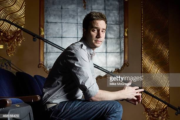 Playwright James Graham is photographed for The Observer Magazine on March 18 2015 in New York City PUBLISHED IMAGE