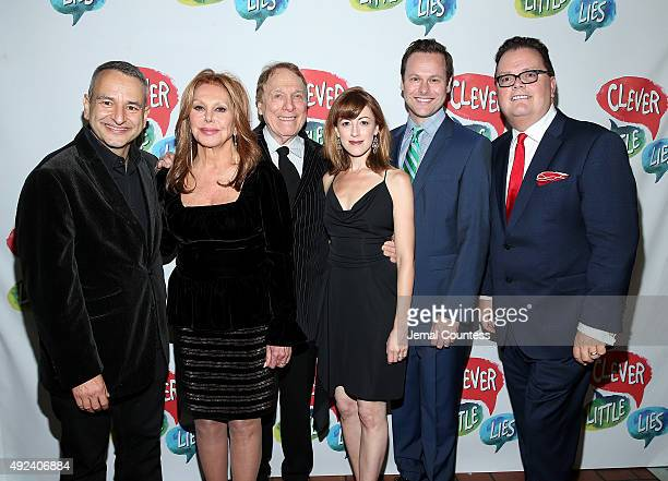 Playwright Joe DiPietro actors Marlo Thomas Greg Mullavey Kate Wetherhead George Merrick and director David Saint attend the opening night after...