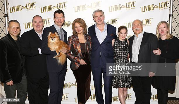 Playwright Joe DiPietro Blake Hammond Jerry O'Connell Trixie Renee Flemming Douglas Sills Anna Chlumsky Scott Robertson and director Kathleen...
