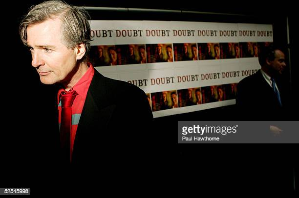 Playwright John Patrick Shanley attends the opening night of 'Doubt' after party at The Supper Club March 31 2005 in New York City