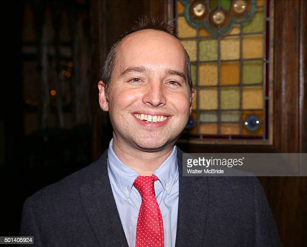 Playwright Jordan Harrison attends the opening night after party for the Playwrights Horizons New York premiere production of 'Marjorie Prime' at Tir...