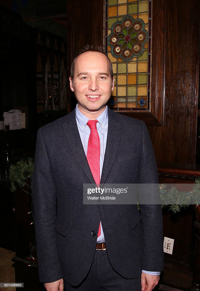 Playwright Jordan Harrison attends the opening night after party for the Playwrights Horizons New York premiere production of 'Marjorie Prime' at Tir Na Nog Irish Pub & Grill on December 14, 2015 in New York City.