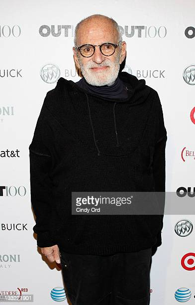 Playwright Larry Kramer attends the 2011 OUT100 at the Skylight SOHO on November 17 2011 in New York City