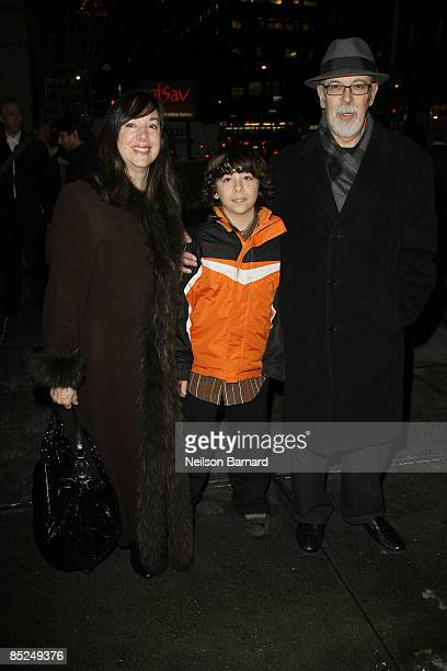 Playwright Lisa Loomer and guests attend the opening night of ''Distracted'' at the Roundabout Theatre Company's Laura Pels Theatre on March 4 2009...