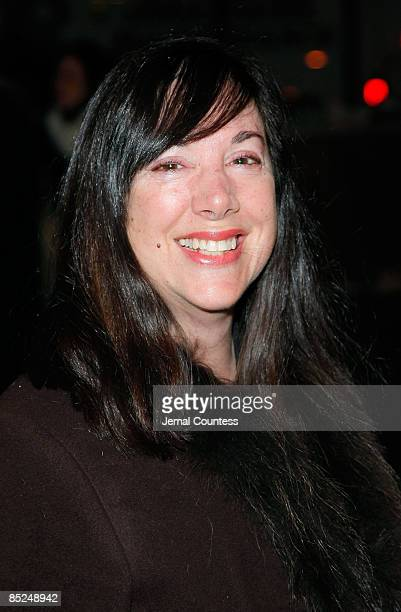 Playwright Lisa Loomer attends the opening night Distracted at the Roundabout Theatre Company's Laura Pels Theatre on March 4 2009 in New York City