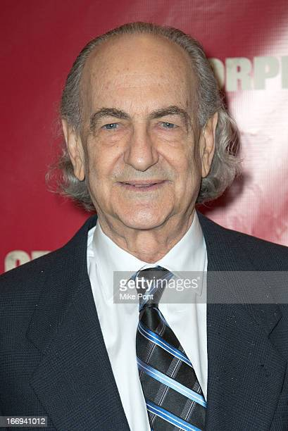 Playwright Lyle Kessler attends the Orphans Broadway opening night at the Gerald Schoenfeld Theatre on April 18 2013 in New York City