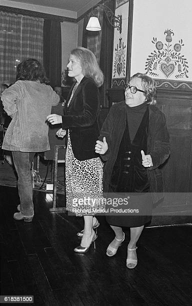 Playwright Marguerite Duras attends a gala celebrating the 30th anniversary of the magazine Cahiers du Cinema The French magazine is one of the most...