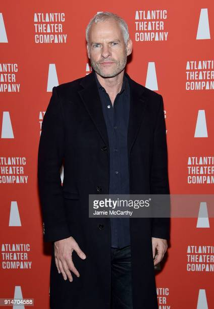 Playwright Martin McDonagh attends 'Hangmen' Opening Night After Party at Dream Downtown on February 5 2018 in New York City