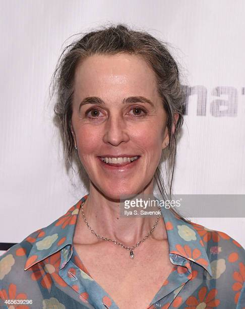 Playwright Naomi Wallace attends 'The Liquid Plane' Opening Night Party at Signature Theatre Company's The Pershing Square Signature Center on March...