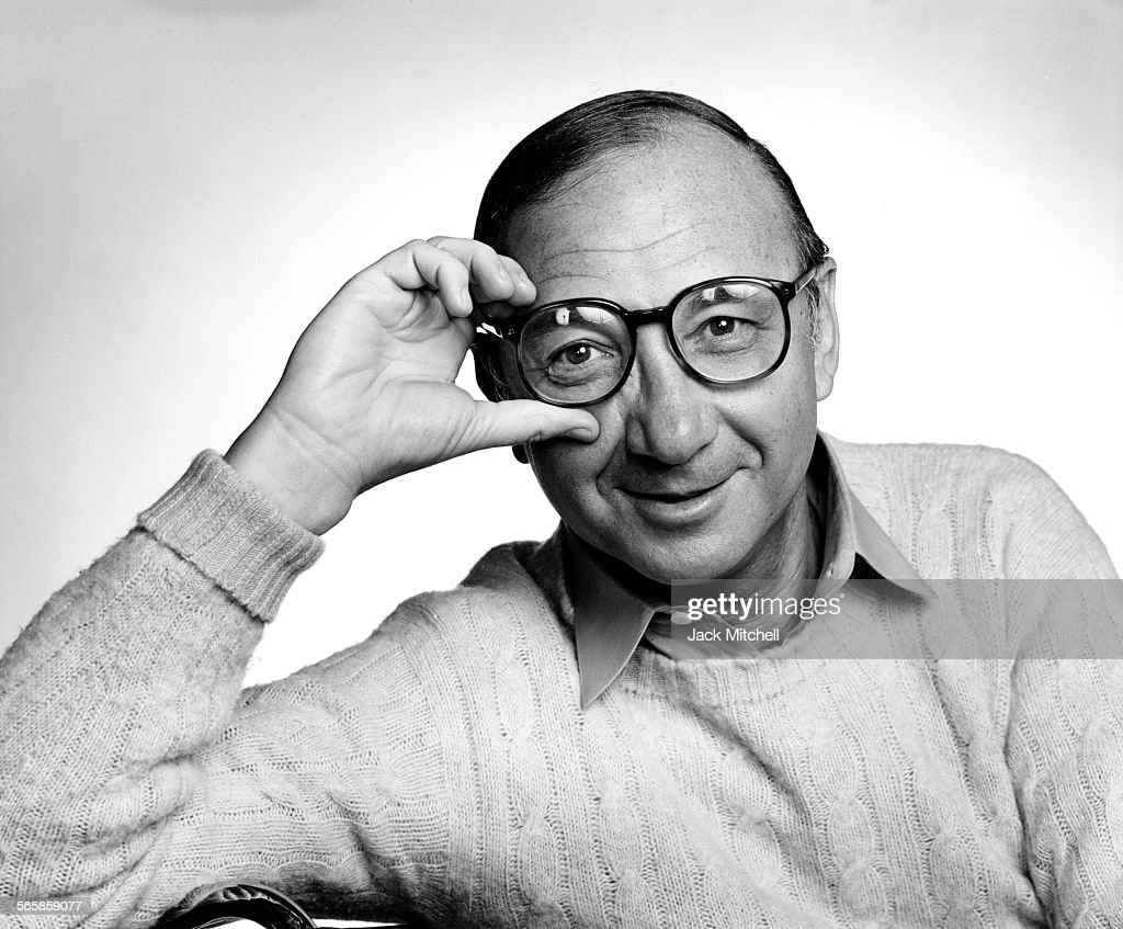 Playwright Neil Simon, 1982. Photo by Jack Mitchell/Getty Images.
