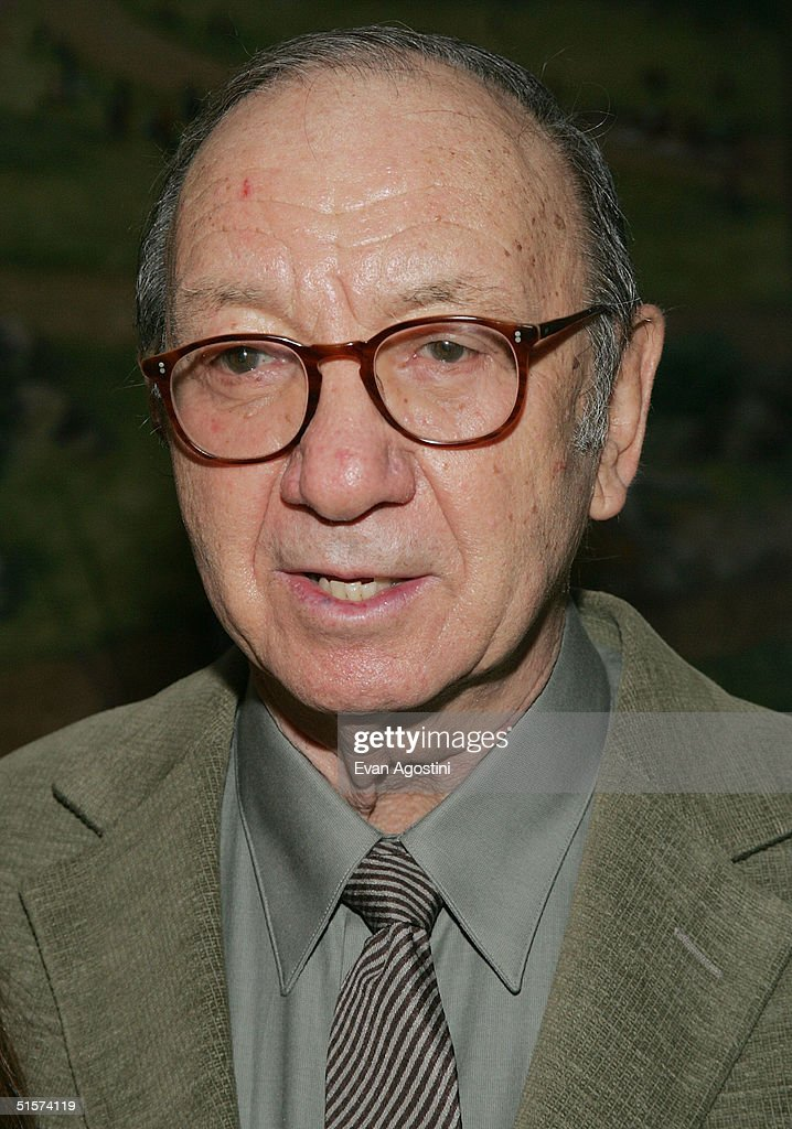Playwright Neil Simon attends the 2004 Tony Honors For Excellence In Theatre luncheon at Tavern On The Green October 26, 2004 in New York City.