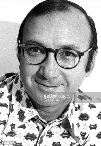 Playwright Neil Simon photographed in September 1971
