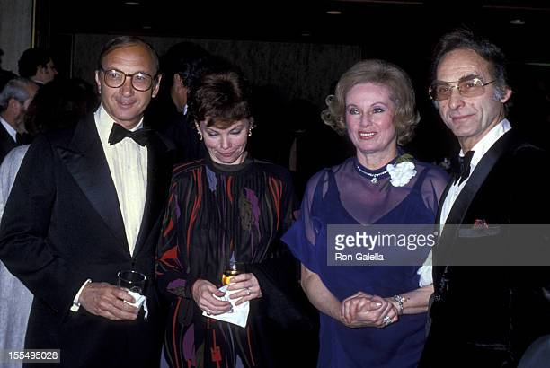 Playwright Neil Simon wife and actor Sid Caesar and wife Florence Caesar attend Academy of Television Arts and Sciences Gala Honoring Sid Caesar on...