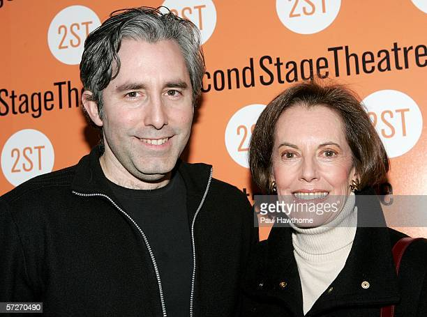 Playwright Paul Weitz and his mother actress Susan Kohner attend the opening night of his play Show People at Second Stage Theatre April 6 2006 in...