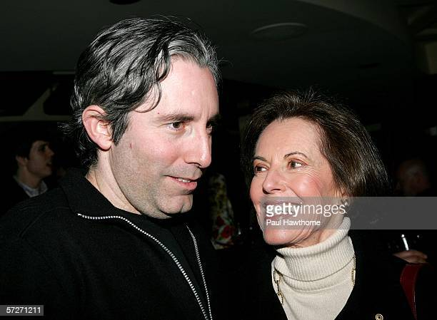 Playwright Paul Weitz and his mother actress Susan Kohner attend the opening night after party of Paul Weitz's Show People at Robert Emmett's April 6...
