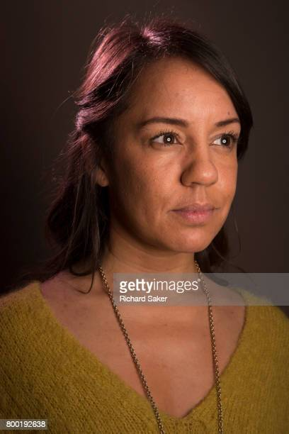 Playwright Rachel DeLahay is photographed for the Observer on February 28 2017 in London England