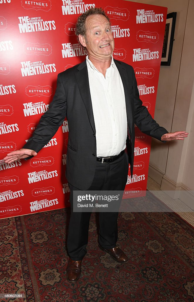 Playwright Richard Bean attends an after party following the press night performance of 'The Mentalists' at Kettner's on July 13, 2015 in London, England.