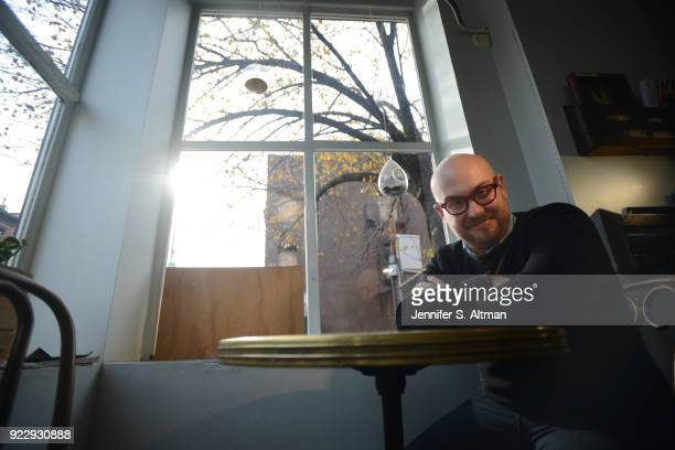 Playwright Robert Askins is photographed for Boston Globe on December 13 2016 in Brooklyn New York PUBLISHED IMAGE